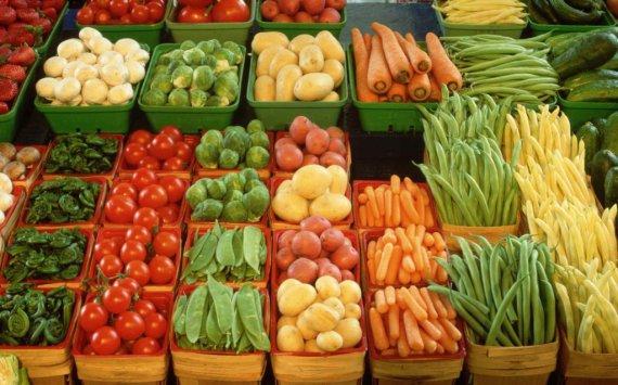 Оптовый плодоовощной рынок