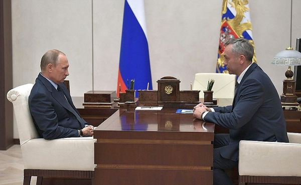 Президент России Владимир Путин назначил исполняющим обязанности губернатора Новосибирской области Андрея Травникова